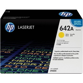 Mực In Laser Màu HP 642A Yellow Original LaserJet Toner Cartridge (CB402A)
