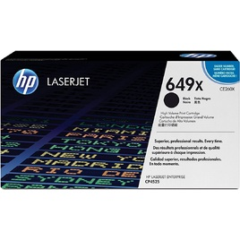 Mực In Laser Màu HP 649X High Yield Black Original LaserJet Toner Cartridge (CE260X)