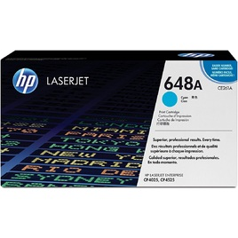 Mực In Laser Màu HP 648A Cyan Original LaserJet Toner Cartridge (CE261A)