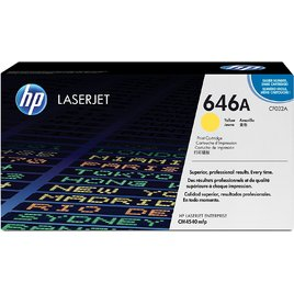 Mực In Laser Màu HP 646A Yellow Original LaserJet Toner Cartridge (CF032A)
