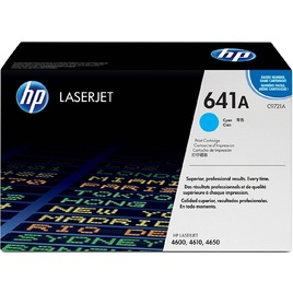 Mực In Laser Màu HP 641A Cyan Original LaserJet Toner Cartridge (C9721A)