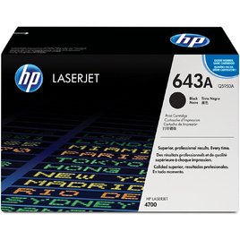 Mực In Laser Màu HP 643A Black Original LaserJet Toner Cartridge (Q5950A)