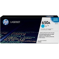 Mực In Laser Màu HP 650A Cyan Original LaserJet Toner Cartridge (CE271A)