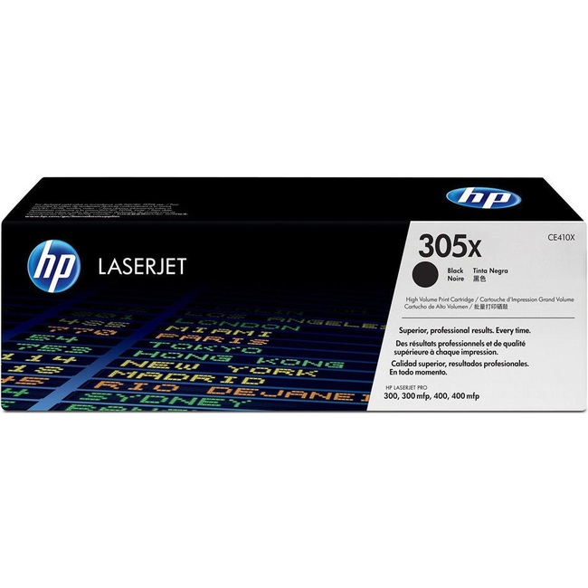 Mực In Laser Màu HP 305X High Yield Black Original LaserJet Toner Cartridge (CE410X)