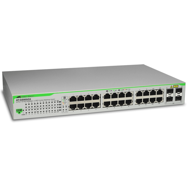 Allied Telesis 24-Port Gigabit WebSmart Switch (AT-GS950/24)
