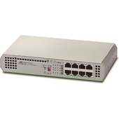 Allied Telesis 8-Port Gigabit Ethernet Unmanaged Switch (AT-GS910/8)