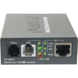 Planet Ethernet Over VDSL2 Converter (VC-201A)