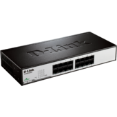 D-Link 16‑Port Fast Ethernet Unmanaged Desktop Switch (DES-1016D)