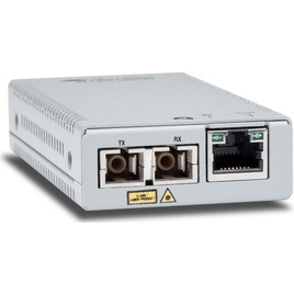 Allied Telesis Gigabit Ethernet To Fiber Mini Media And Rate Converter (AT-MMC2000/SC)
