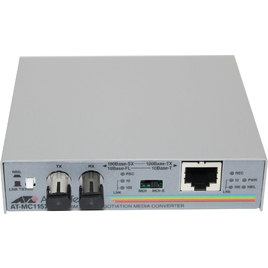Allied Telesis Fast Ethernet To Fiber Media Converter (AT-MC101XL-60)