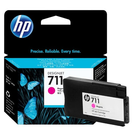 HP 711 29-ml Magenta DesignJet Ink Cartridge (CZ131A)