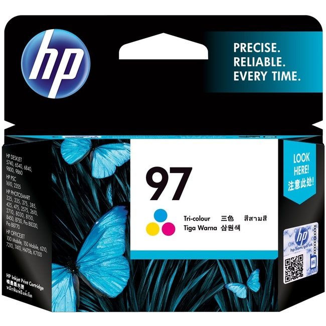 HP 97 Tri-color Original Ink Cartridge (C9363WA)