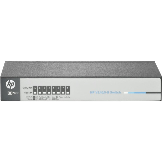 HPE OfficeConnect 1410 8-Port 10Base-T/100Base-TX Switch (J9661A)