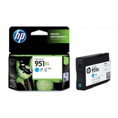 HP 951XL High Yield Cyan Original Ink Cartridge (CN046AA)