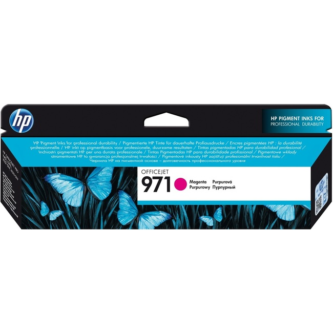 HP 971XL High Yield Magenta Original Ink Cartridge (CN627AA)