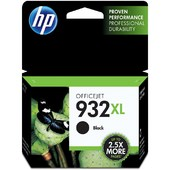 HP 932XL High Yield Black Original Ink Cartridge (CN053AA)