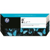 HP 81 680-ml Black DesignJet Dye Ink Cartridge (C4930A)