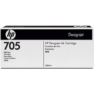 HP 705 680-Ml Light Cyan Designjet Ink Cartridge (CD963A)