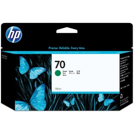 HP 70 130-ml Green DesignJet Ink Cartridge (C9457A)