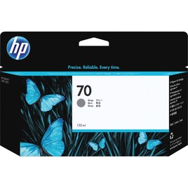 HP 70 130-ml Gray DesignJet Ink Cartridge (C9450A)