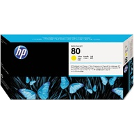HP 80 Black DesignJet Printhead and Printhead Cleaner (C4820A)