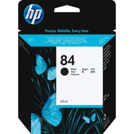 HP 84 69-ml Black DesignJet Ink Cartridge (C5016A)