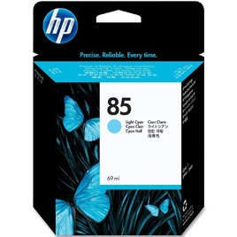 HP 85 69-ml Light Cyan DesignJet Ink Cartridge (C9428A)