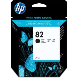 HP 82 69-ml Black DesignJet Ink Cartridge (CH565A)
