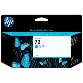 HP 72 130-ml Cyan DesignJet Ink Cartridge (C9371A)