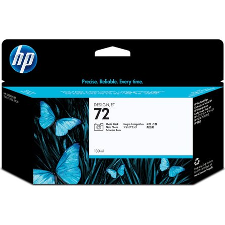 HP 72 130-ml Photo Black DesignJet Ink Cartridge (C9370A)