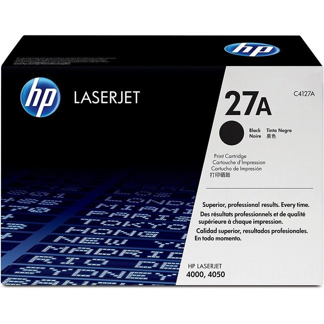 HP 27A Black Original LaserJet Toner Cartridge (C4127A)