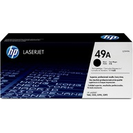HP 49A Black Original LaserJet Toner Cartridge (Q5949A)