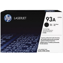 HP 93A Black Original LaserJet Toner Cartridge (CZ192A)