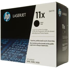 HP 11X Black Toner Cartridge (Q6511X)