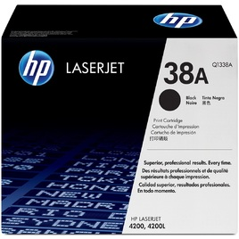 HP 38A Black Original LaserJet Toner Cartridge (Q1338A)