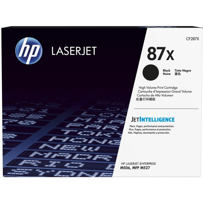 HP 87X High Yield Black Original LaserJet Toner Cartridge(CF287X)