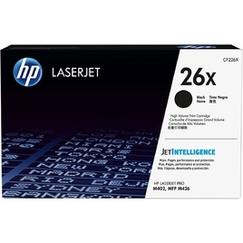 HP 26X Black Original LaserJet Toner Cartridge (CF226X)