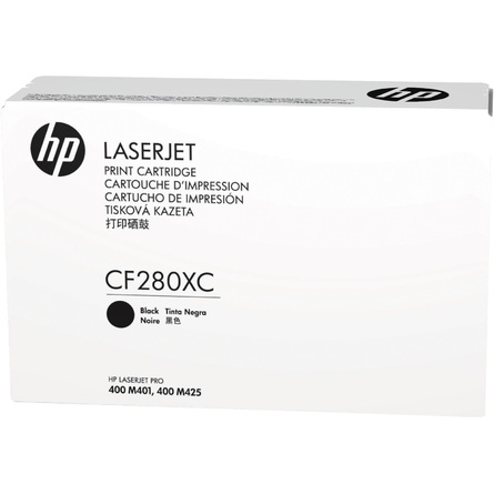 HP 80XC Black Contract Original LaserJet Toner Cartridge (CF280XC)