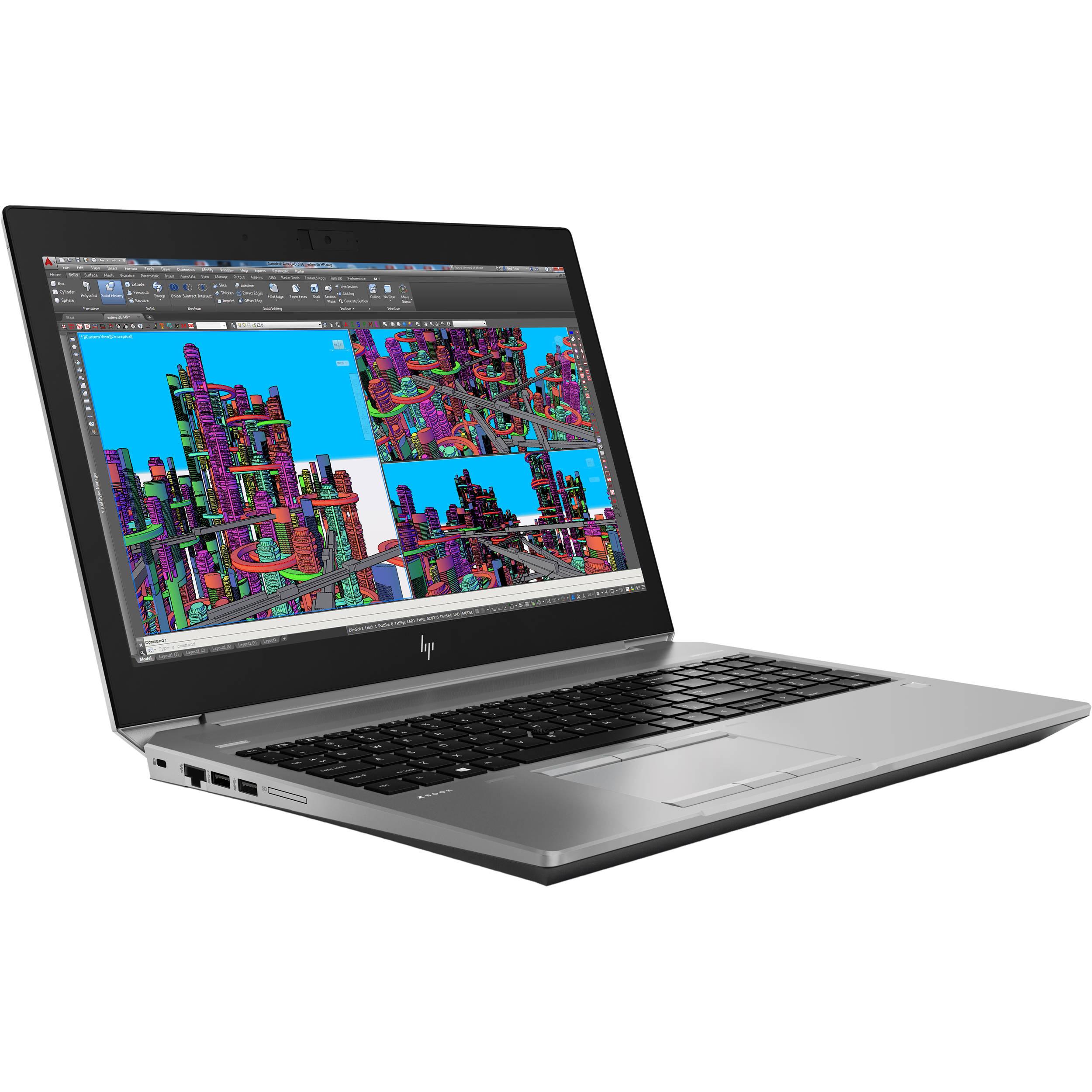 Laptop Workstation HP ZBook 15 G5 3AX12AV - Tìm Hàng Công Nghệ