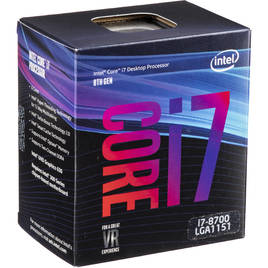 CPU Intel Coffe Lake Core i7-8700 3.2GHz LGA1151 12MB Cache (BX80684I78700SR3QS)