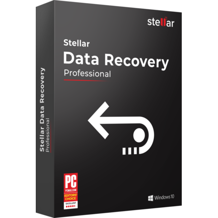 Phần Mềm Khôi Phục Dữ Liệu Stellar Data Recovery Professional For Windows (1 Year - Single System)