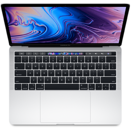 MacBook Pro 13 Retina 2018 Core i5 2.3GHz/8GB LPDDR3/256GB/TouchBar + Touch ID Sensor - Silver (MR9U2SA/A)