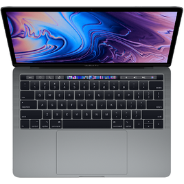 MacBook Pro 13 Retina 2019 Core i5 2.4GHz/8GB LPDDR3/256GB/Touch Bar + Touch ID Sensor - Space Gray (MV962SA/A)