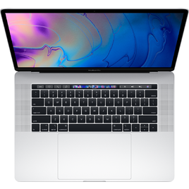 MacBook Pro 15 Retina 2019 Core i7 2.6GHz/16GB DDR4/256GB/555X 4GB/Touch Bar + Touch ID Sensor - Silver (MV922SA/A)