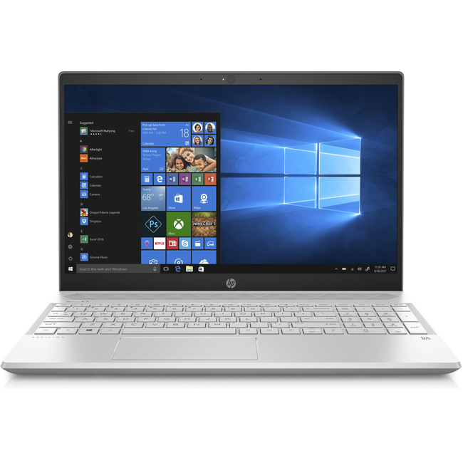 Máy Tính Xách Tay HP Pavilion 15-cs1045tx Core i5-8265U/4GB DDR4/1TB HDD/NVIDIA GeForce MX130 2GB GDDR5/Win 10 Home SL (5JL29PA)