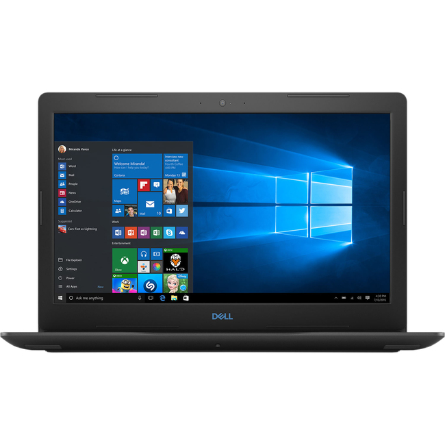 Máy Tính Xách Tay Dell Inspiron 15 3579 G3 Core i5-8300H/8GB DDR4/1TB HDD + 128GB SSD PCIe/NVIDIA GeForce GTX 1050 Ti 4 GB GDDR5/Win 10 Home SL (G5I5423W-Black)