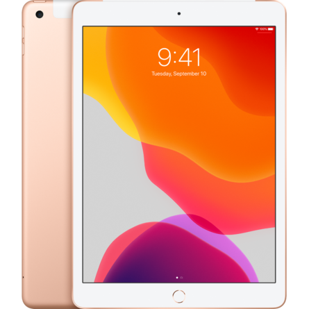 iPad 2019 7th-Gen 32GB 10.2-Inch Wifi Cellular - Gold (MW6D2ZA/A)