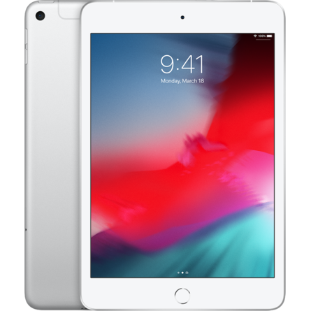 Máy Tính Bảng Apple iPad Mini 2019 5th-Gen 64GB 7.9-Inch Wifi Cellular Silver (MUX62ZA/A)
