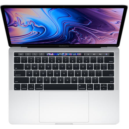 MacBook Pro 13 Retina 2019 Core i5 1.4GHz/8GB LPDDR3/256GB/Touch Bar + Touch ID - Silver (MUHR2SA/A)