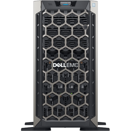 Server Dell EMC PowerEdge T340 Xeon E-2174G/8GB DDR4/1TB HDD/PERC H330/495W (70187249)